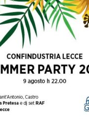 Summer Party Confindustria Lecce 2017